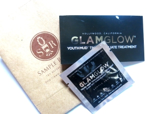 sampleroom glamglow youthmud tinglexfoliate treatment