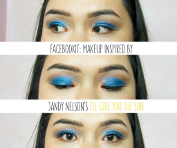 FaceBookIt: Makeup Inspired by Jandy Nelson's I'll Give You the Sun